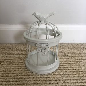 mini bird cage decor